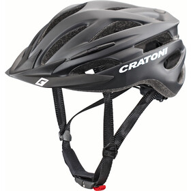 Cratoni Pacer Casco, black matt